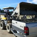 gravel load